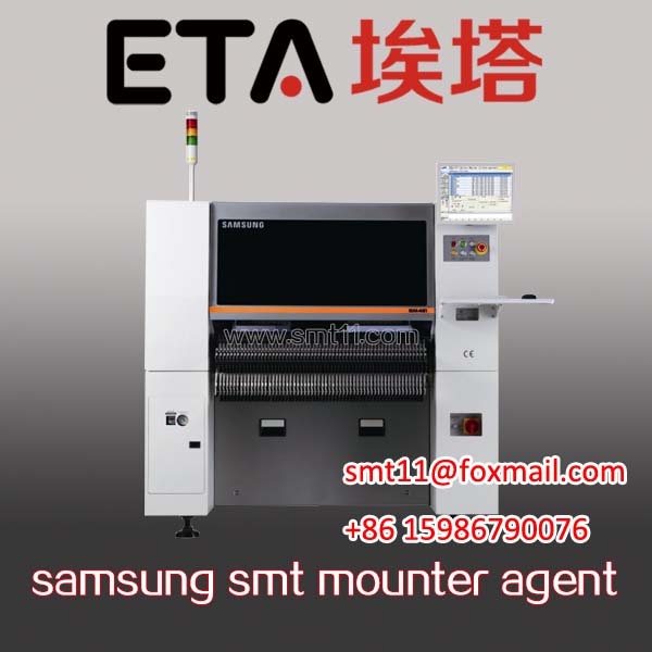 Samsung Sm-482 SMD Chip Mounter SMT Pick and Place Mounting Machine