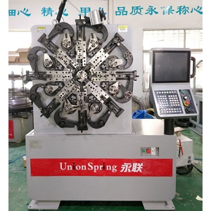 metal tension spring clamps making machine