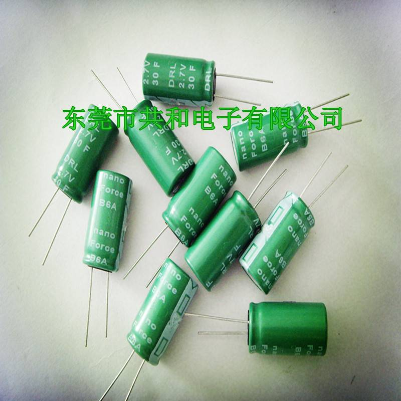 2.7v30f supercapacitor