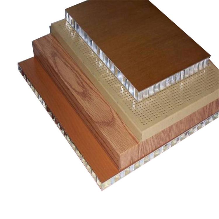 honeycomb wood grain pattern fiberglass panel for boat