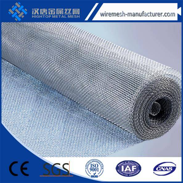 pvc coated or hot dippedGalvanized wire mesh with first class quality