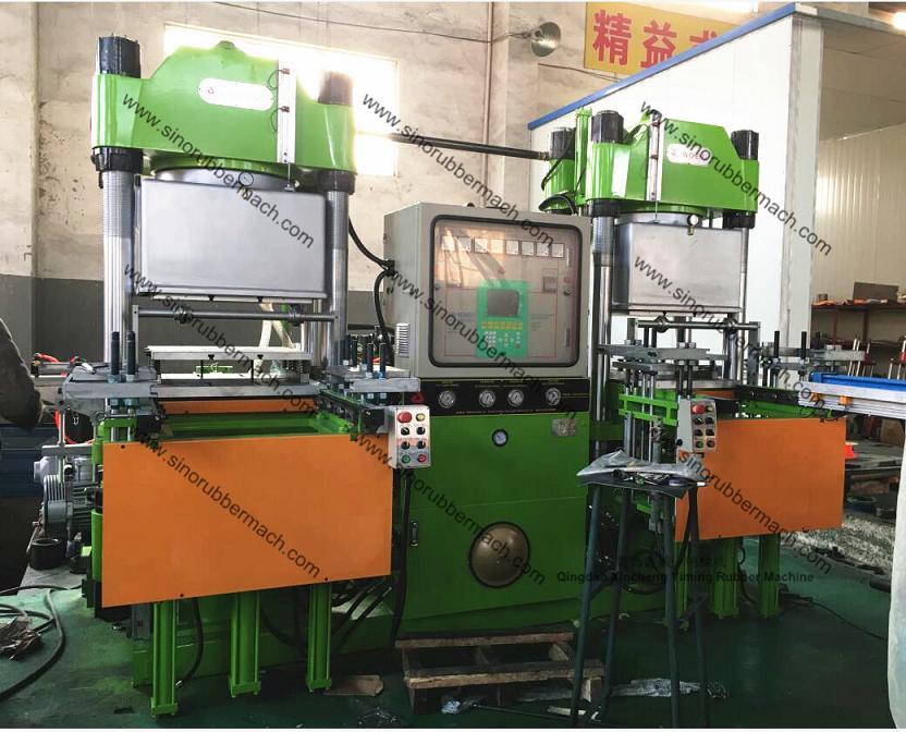 Xincheng Yiming 400T Vacuum Rubber Compression Molding Machine