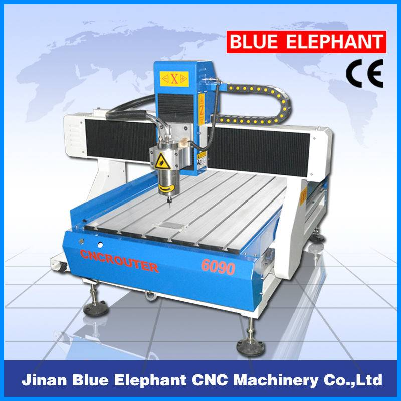ELE wood cnc router 6090 / cnc machinery 6090 / prices for non-steel material