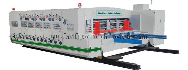1600x2800 Muiti-color carton flexo printing slotting and die-cutting machine