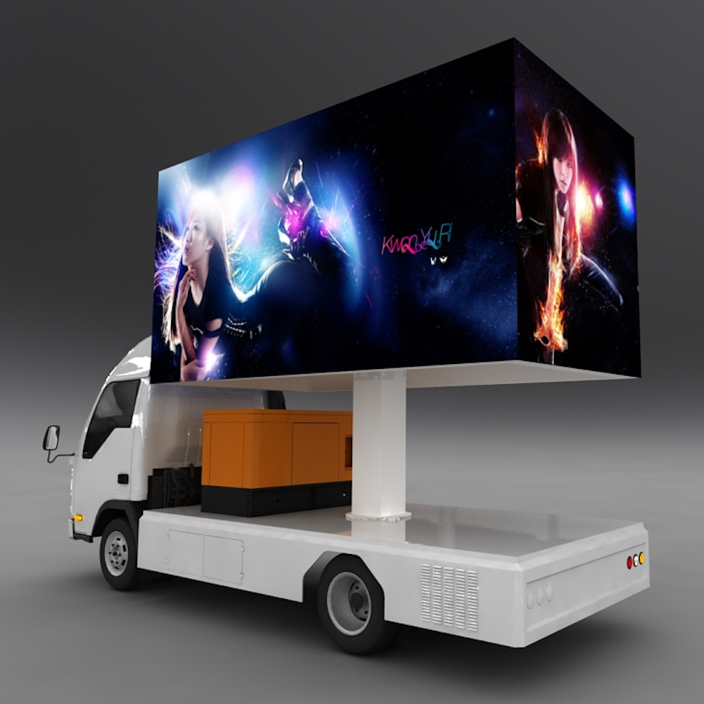 SoPower Available Mobile LED Billboard Advertising Truck