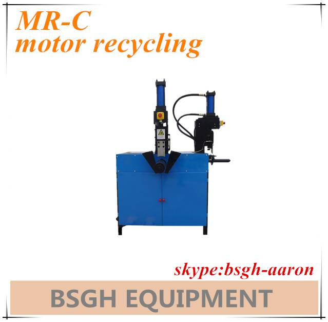 waste motor stator cutting recycing machine copper recycling machine