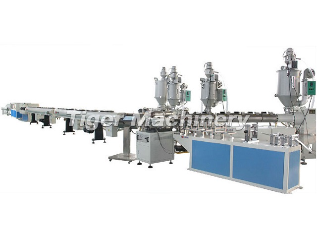 PE Three Layer Pipe Making Machine