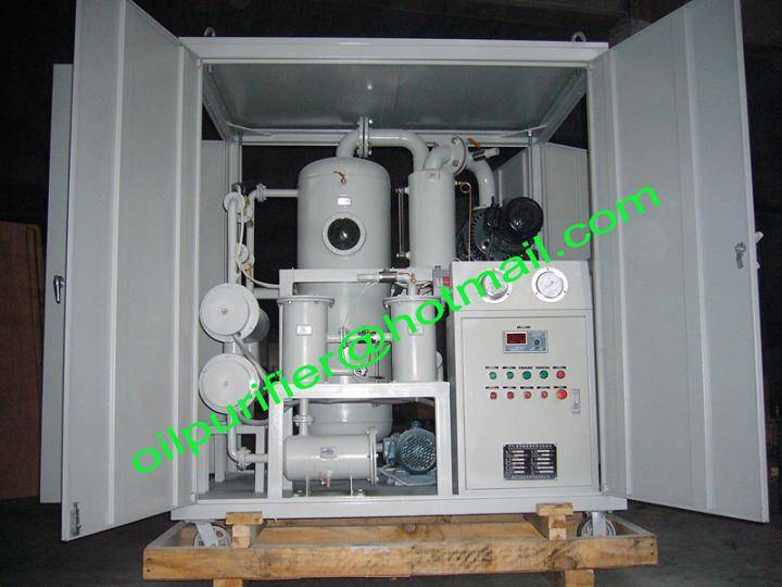 Insulating Oil Purifier, Transformer Oil Regeneration Equipment, Oil Filter Machine