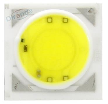 Driverless 20w 50w AC COB ceramic board round emitting area led 220V AC 30w COB
