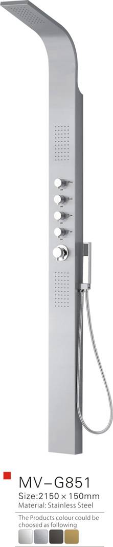Thermostatic Faucet Shower panel