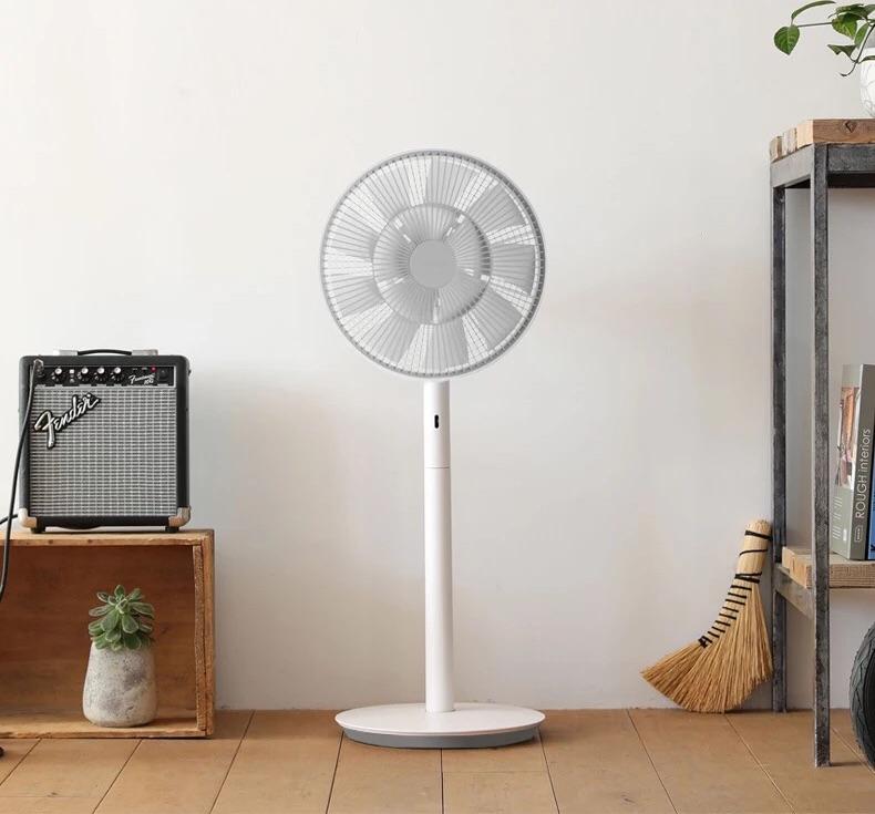 TouchStarMountains Silent pedestal fan