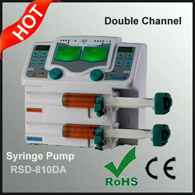 Double Channel Syringe Pump