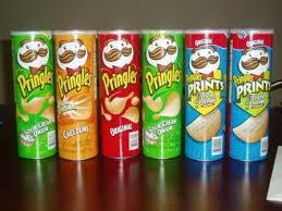 Pingles Potato Chips and Lays Potato Chips