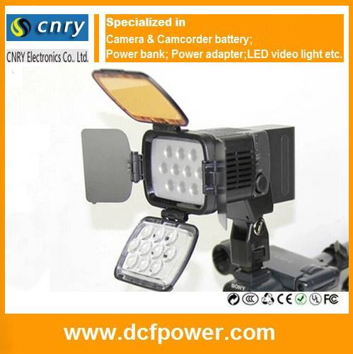 LED-LBPS1800 video light led for Canon XA20 XA10 LBPS-900 LED-5010A LED-1800 LED-187A LED-5005 camer