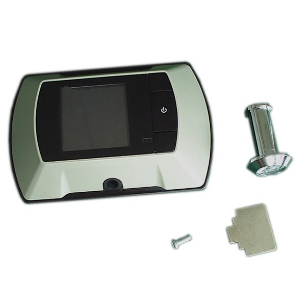3.5inch peehole video door camera with build-in memory door and window hardware