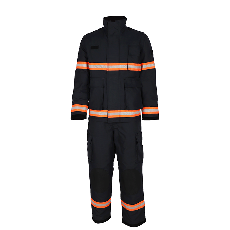 Wholesale fire-retardant and heat-resistant firefighter rescue protective suit