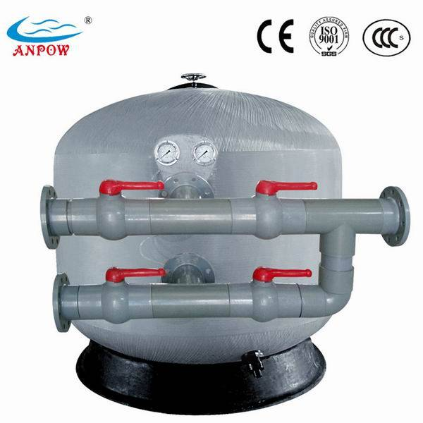 Manual Control Valve Swimming Pool Side Mount Sand Filters ...