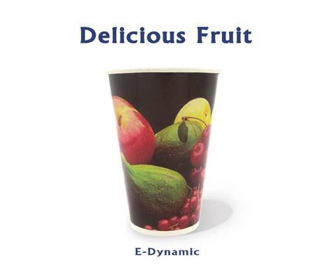 6 Oz Single PE Coated Flexo Printed Paper Sheet Paper Fan For Paper Cup Coffee Cup Fruit Juice Cup