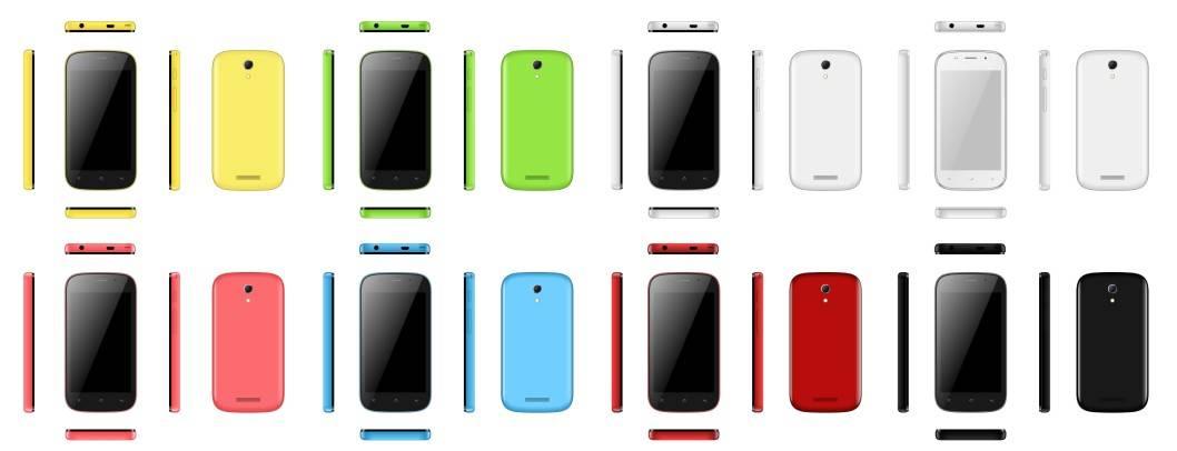 "4.0"" 3G andriod smart phone iPro TRANS III"