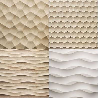 3D moulding wall tiles, cnc carving, backgroud wall decoration,  interior design
