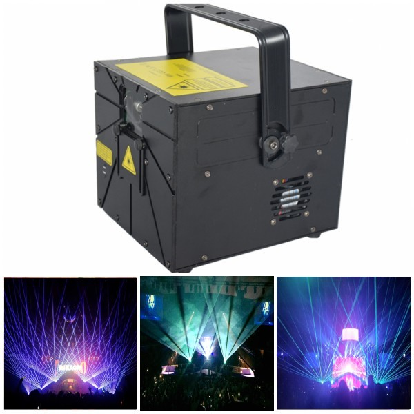 5W RGB Full Color Animation Laser for DJ Light Ilda