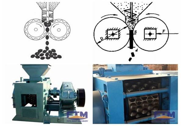 Fote Coal Briquette Press/Briquette Machine