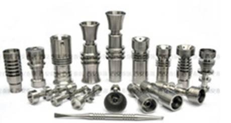 Titanium nail or titanium nail for smoking