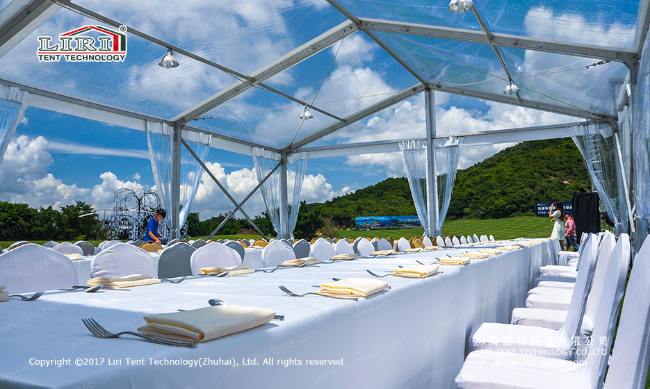 200 People Clear Party Marquee for Outdoor Parties and Weddings