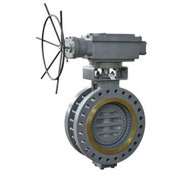 Bi-directional Metal-seated power station Butterfly Valve