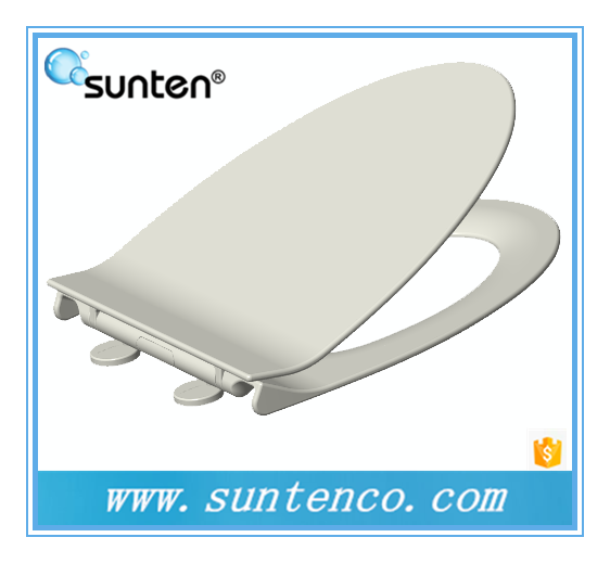 Excellent Design Soft Closing V Shape Elongated Toilet Seat Covers