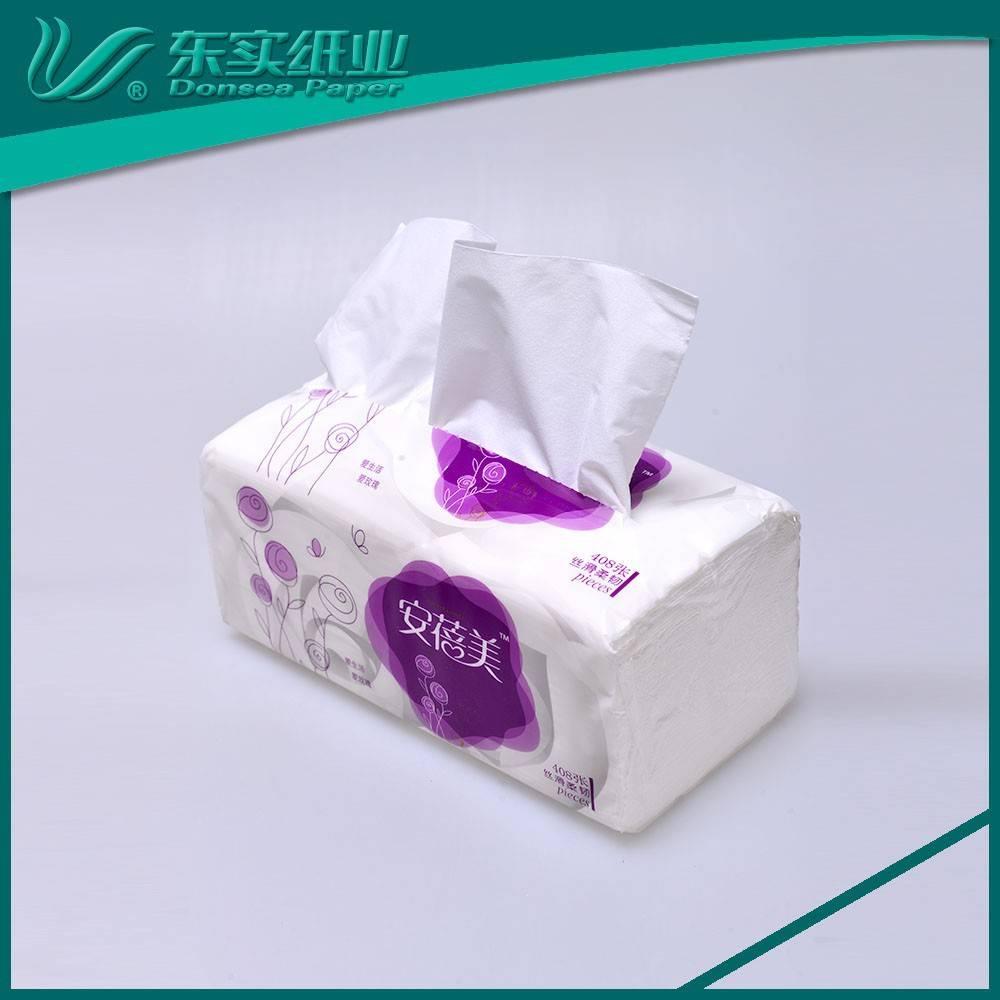 Superior Quality FDA Certificate Facial Tissue Paper for Hourseplants