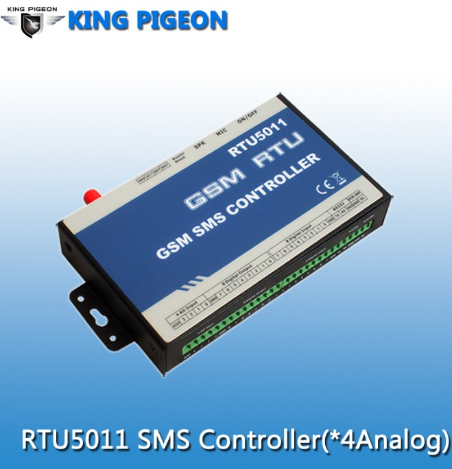 GSM SMS Controller (8DI/8DO,4AI,RS232)
