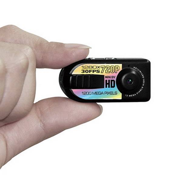 HD 720P Mini DV Q5 Digital Camera Recorder With Motion Detection 1280 * 720 Hidden Mini Camera