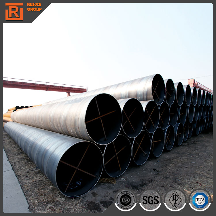 Large diameter Q345 ssaw steel pipe for steel piles