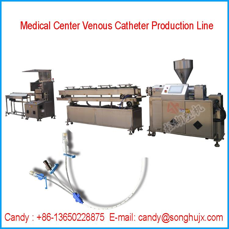 PVC Medical Hose Production Line for Central Venous Catheter