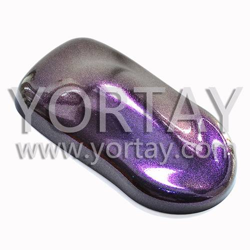 Bright Violet Pearl Dye in Auto Coating