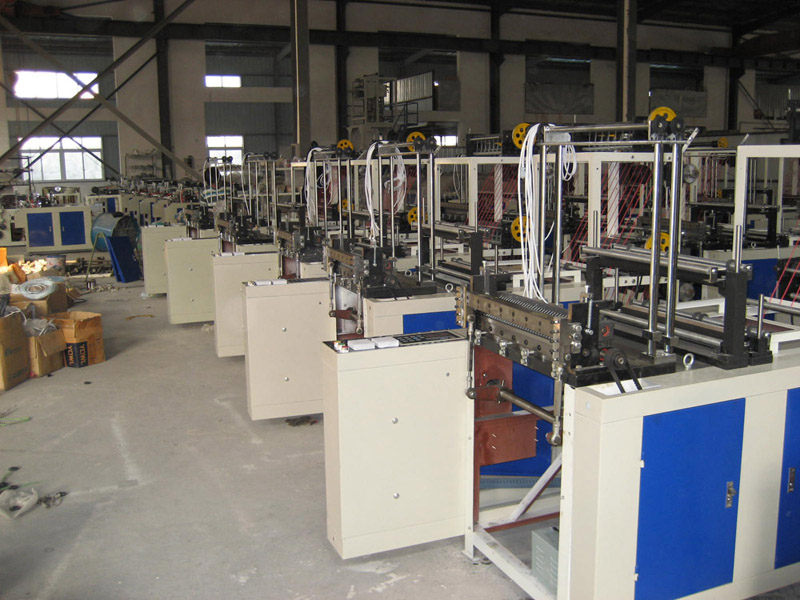 Computer Control Four-line Bottom Sealing and Cutting Bag Machine