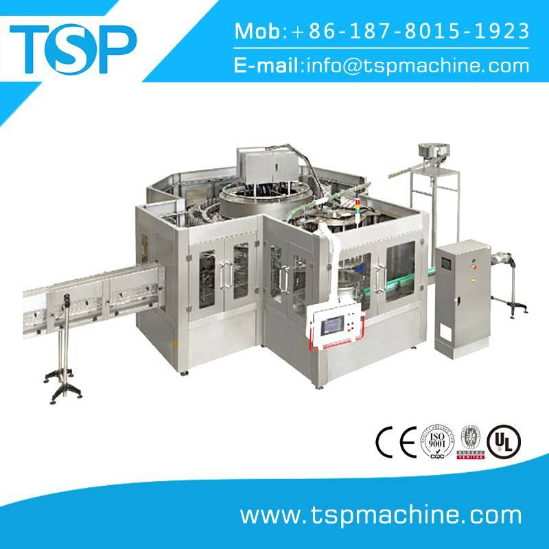 Rotary type drinkable pure water filling sealing machine/ bottling plant