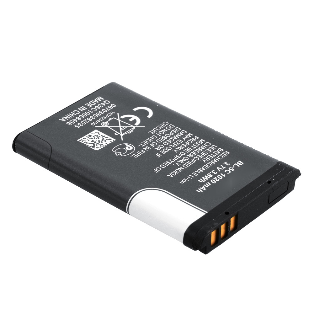 3.7v 800mah bl-5c compatible mobile phones battery for nokia bl-5c E50/E60/N70/N71/N72/N91/ N918G/N-