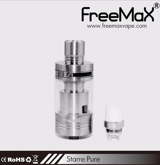 2016 NEWEST Starre Pure tank,4ML Capacity ,Ceramic Cover Coil 0.25/0.5ohm ,Top Airflow &Refill Tank