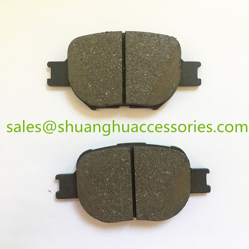D817 Brake pad for Toyota,semi metal,27years' fty