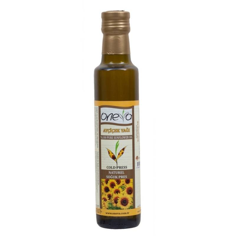 Oneva Brand First Cold Pressed Sunflower Oil