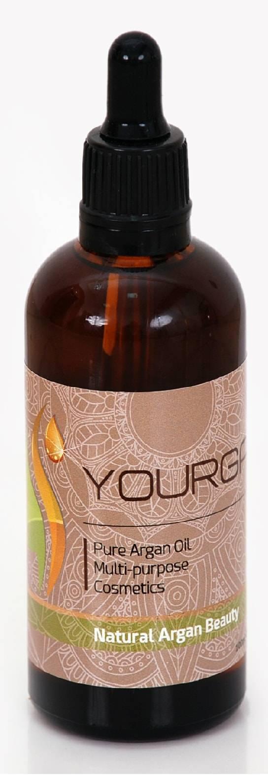Argan Oil Bottle Glass Drop 100Ml