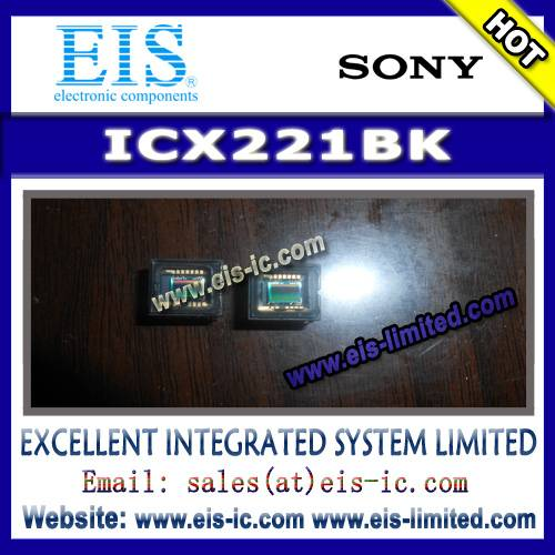 ICX221BK - SONY - Timing Generator for Frame Readout CCD Image Sensor