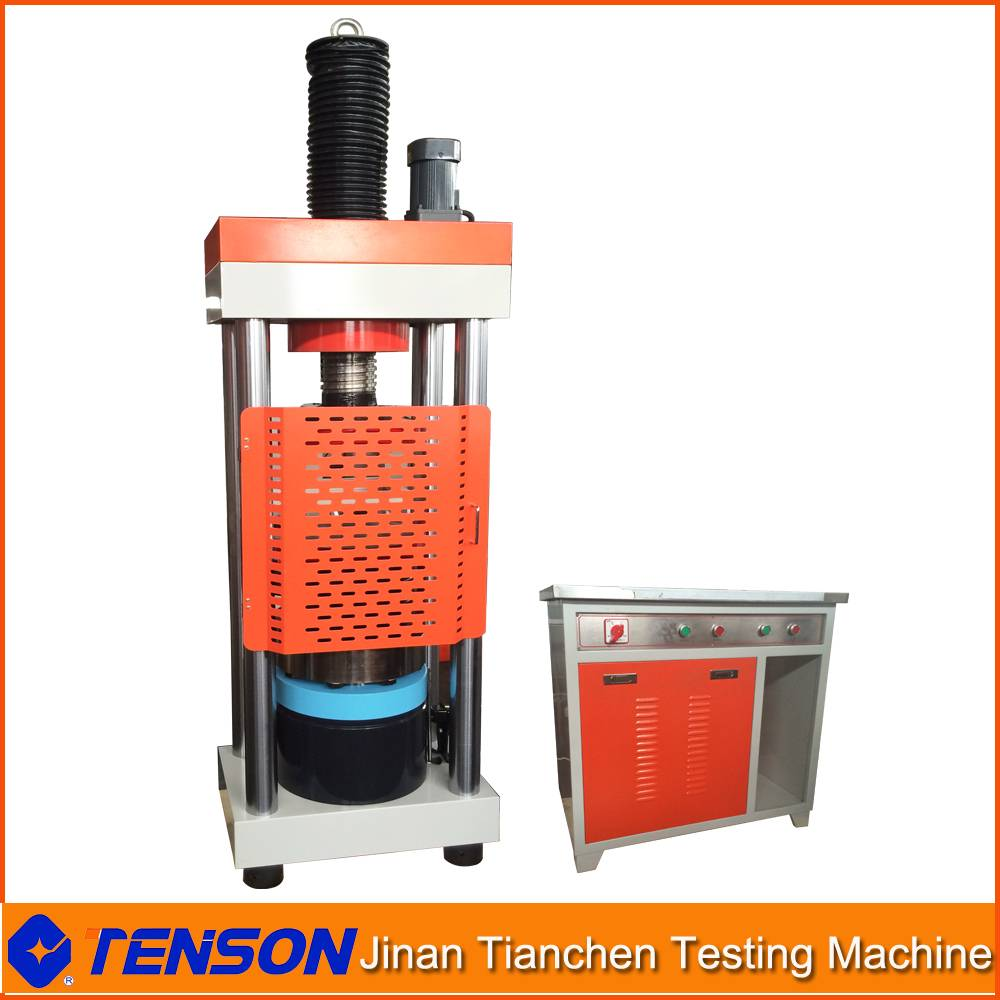With Safe Cover 200T Hydraulic Compression Strength Test Machine Computer Control Type