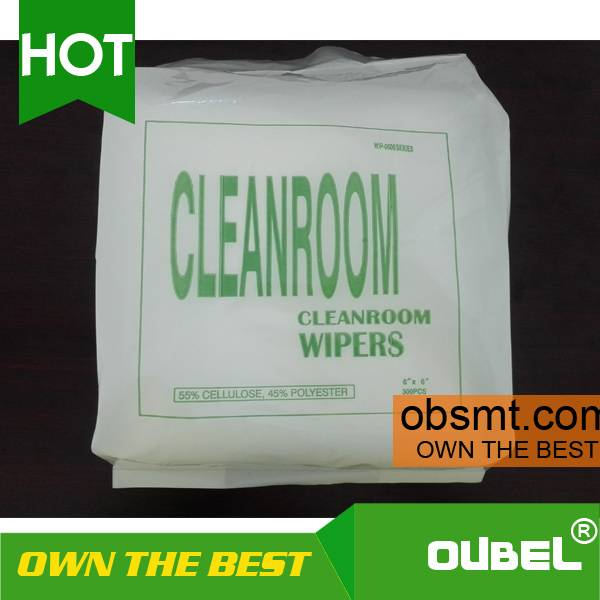 nonwoven cleaning wipes polyester cleanroom wipers
