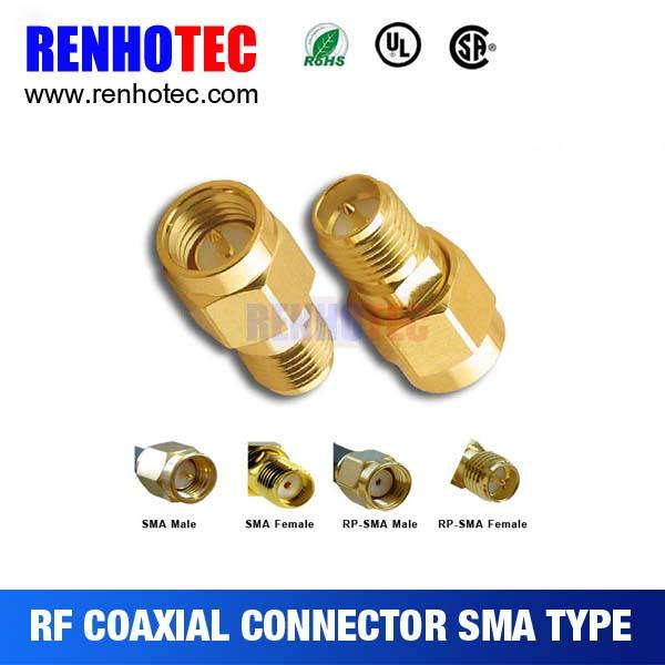 RF connector RG174 cable RF connector Straight male R/P SMA connector