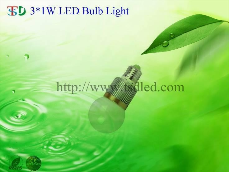 3×1W G60 High Power LED Bulb