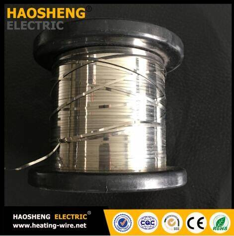 0cr15al5 heating round wire and strip flat wires soft wire bright anneal