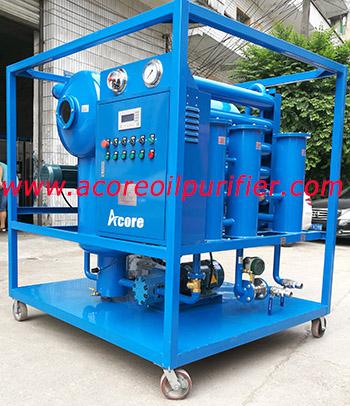 DVTP High Vacuum Transformer Oil Filter Machine